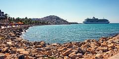Cruise ship docked in Kusadasi Turkey (CamelKW) Tags: turkey2016 cruiseship docked kusadasi turkey