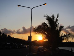 END OF DAY (PINOY PHOTOGRAPHER) Tags: sunset lamp post legazpi albay bicol bicolandia luzon philippines asia world sorsogon