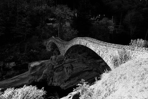 Ponte dei Salti,  Lavertezzo, Valle Verzasca, Ticino, Switzerland