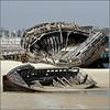 Panoramio & ipernity : Sic Transit Gloria Mundi (pom.angers) Tags: canoneos400ddigital 2010 etel morbihan 56 bretagne france europeanunion april boat brittany 100 150 5000 200 atlanticocean