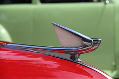 Hood Ornament (lars hammar) Tags: nsra nsrarockymountainnationals streetrods cars carshow pueblo automotive classiccar hoodornament