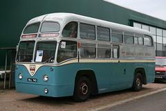 1953 AEC Regal IV airport coach (davocano) Tags: mll740 britisheuropeanairways