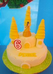 Belle Castle Cake (DC Cafe Roxas) Tags: belle beauty beast walt disney fondant castle cake dc cafe roxas city divine cakes bakeshop iloilo