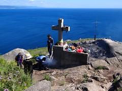 Feuerstelle am Cabo de Finisterre, Galicien, Spanien (Anne O.) Tags: 2016 fisterra galicien spanien