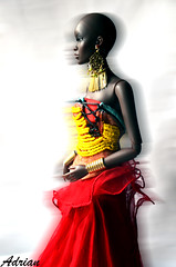ready to celebrate (FBJDcollector) Tags: queen doll africancolors celebration fashiondoll couture glamour 16 nathalie jamieshow