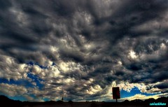 It's just the weather. (zairakhan) Tags: clouds sky stormy winters utah outdoor