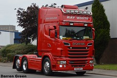 RAY WHITE SCANIA R730 V8 M33 WTS (denzil31) Tags: ray white scania r730 v8 m33 wts kelsalightbar ukandeurope refridgeratedtransport scaniatrucks avonmouth internationaltransport
