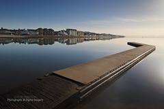 THE MARINE LAKE (dppdi (2003-2016)) Tags: westkirby thewirral merseyside england uk marinelake jetty water serene tranquil reflections