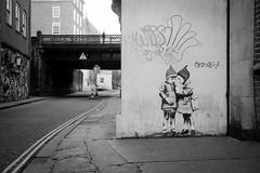 Bristol FP4+ (Barnaby Nutt) Tags: bristol fp4 ilford ilfotechc leica m6 summicronm jps street art