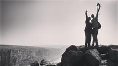 Selfie (ujjal dey) Tags: ujjal ujjaldey travel trip gandikota andhra india canyon river penna monochrome blackandwhite selfie camera photography mobilephotography motorolag2 hills top