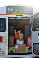 Never too young to give back! (CFBCA) Tags: school primose preschool canned food drive community bank central alabama birmingham turkey thanksgiving