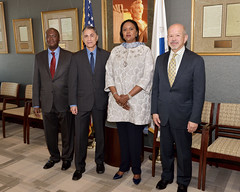 Deputy Secretary Mendez Meets With Kenyan Foreign Minister Amina Mohamed (U.S. Department of Transportation) Tags: deputysecretarymendez transportation kenya kenyanforeignministeraminamohamed faa faaadministratormichaelhuerta