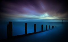 Ocean Dreams (Nickerzzzzz - Thanks for stopping by :)) Tags: nickudy nickerzzzzz canoneos70d efs1585mmf3556isusm devon water le longexposure sky seascape sea sunset ocean groynes teignmouth