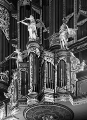 The Nose of the Organ of St. Johannis Kirche, Lneburg, Germany (Philinflash) Tags: 2016 church churchinteriors europe germany organ orgel otherkeywords places lneburg