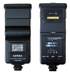 Londa AP808SS flash (zaphad1) Tags: londa twin flash strobe flashgun ap 808 ss ap808ss tilt head bounce