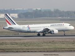"""Air France. Livery """"PARIS Ville Candidate Au Jeux Olympique 2024"""". (Jacques PANAS) Tags: air france airbus a320214 fhbnc msn4601"""