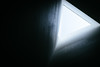 #Triangle (David C W Wang) Tags: asiauniversity taichung taiwan 台灣 台中 亞洲大學 三角形 triangle 安藤忠雄 あんどうただお 黑色背景 抽象 簡約主義 單色 景深 對角線