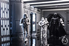 You underestimate the power of the Dark Side. (TX-0666) Tags: actionfigurephotography white black starwarstoys toys actionfigure toyphotography longexposure amateur pdx portland art need deathstar stormtrooper diy canon diorama starwars darthvader rogue one empire action figure