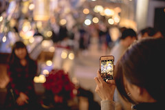 Just happy (edward.cheung) Tags: 1881 christmax hongkong a7r2 558 sony friendship happiness bokeh tsimshatsui