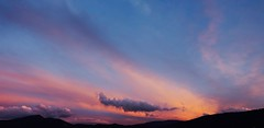 El cielo de la tarde - Sunset ...... (davidgv60) Tags: david60 mirrorless alcoi espaa atardecer sky color sunset spain fujifilm xt10 nubes nwn cielo natur natural paisvalenci photodgv