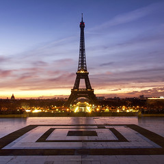 Squared (brunopintophotography) Tags: brunopinto paris france eiffel tower sunrise trocadero canon filters leefilters