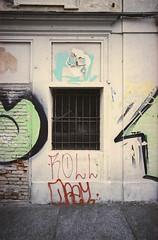 the doors #247 (.CLOSER.) Tags: closer photography analogic urban elements doors nikon nikkor f4 28mm af porta architettura trama astratto testo city arco allaperto finestra lavorazione della pietra mattone muro di mattoni