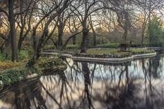 Caprice (marcos_casado90) Tags: park parque madrid spain longexposure autumn otoo water agua fountain fuente canon nature naturaleza