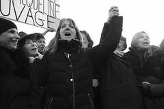 _DSF8476 (sergedignazio) Tags: france paris trocadéro tour eiffel street photography photographie rue fuji xpro2 manifestation rassemblement fenmen jacqueline sauvage justice prison