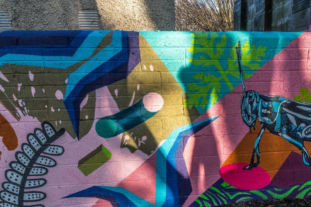 NEW STREET ART AND NEW TEAROOMS [HERBERT PARK DUBLIN]-124054
