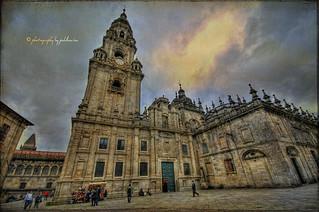 (0114/14) Plaza de la Quintana en Santiago de Compostela
