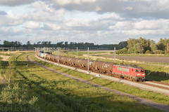 DBS 1615 + Uc - Stb-Llsoa - 61300 - 20140513 (Cees_1251) Tags: 1600 schiphol 1615 dbs goederen ketelwagens 61300 containerwagens volbeladen stbllsoa