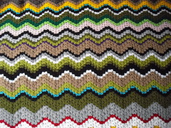 Ziguezague - Manta zig zag - Manta zigzag (Eun Wa) Tags: handmade crochet artesanato craft manta agulha lã crochê feitoamão ziguezague mantadecrochê