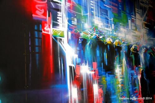 Graffiti Exhibition at Southbank 1