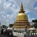 Dambulla - Stupa in front of Golden Temple
