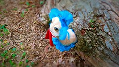 the worm (from labyrinth) (the ghost in you) Tags: birthday park family fun toys muppets plush puppets fantasy 80s stuffedanimals animatronics davidbowie jimhenson frankoz jenniferconnelly kevinclash