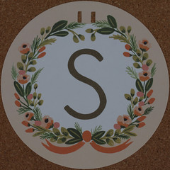 Garland Letter S (Leo Reynolds) Tags: s garland letter squaredcircle sss oneletter letterset grouponeletter xsquarex xleol30x sqset107 xxx2014xxx