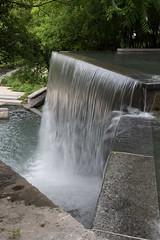 Curtain of Water (Erik Jackson Photography) Tags: park water waterfall curtain placedeluniversitduqubec