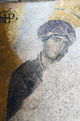 Virgin Mary (Prairie_Wolf) Tags: church turkey mosaic istanbul mosque virginmary hagiasophia eurasia travelphotography 13thc rachelmackayphotography