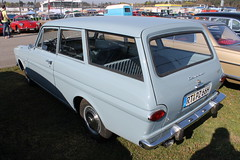 Ford Taunus 12M P4 Turnier (1966) (Mc Steff) Tags: ford station wagon 1966 taunus turnier kombi 2014 hockenheimring p4 12m veterama