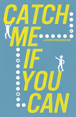"""""""Catch Me If You Can"""" Minimalist Poster (emptycupboard) Tags: blue 2002 white inspiration color film tom illustration plan"""