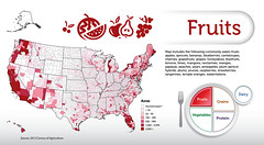 Fruits (USDAgov) Tags: fruits vegetables grains dairy nass proteins myplate sciencetuesday censusofagriculture agcensus