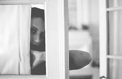 la chanson d'O - analog (StefanoMajno) Tags: portrait film girl beauty analog 35mm canon model eyes 400 analogue ilford stefano naima pellicola geometries majno