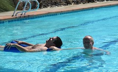 July 23, 2014 (26) (gaymay) Tags: california gay love pool happy desert palmsprings swimmingpool triad