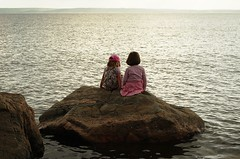 Sweden 2014, friendship (SS) Tags: life light sea summer love water photography rocks view friendship pentax sweden horizon perspective balticsea k5 2014 ss