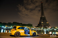 Paris By Night - Juillet 2014 - 05 (JDPhotoIDF) Tags: 2 3 sport canon eos 1 team 4 clio f1 renault f l 24 mm 105 phase rs f4 250 cv 203 megane 225 6d 24105 197 f4l renaultsport 24105mm 203cv 197cv