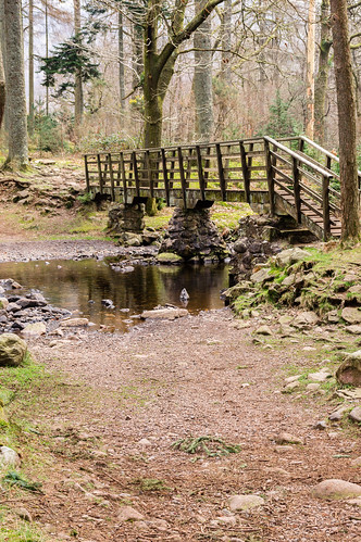 Footbridge and ford near Dalegarth Hall