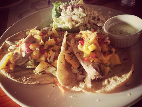 """Fish tacos on corn...sealfit academy day 1 <a style=""""margin-left:10px; font-size:0.8em;"""" href=""""http://www.flickr.com/photos/118228725@N06/14754818778/"""" target=""""_blank"""">@flickr</a>"""