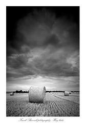 Hay bales (frank_bunnik) Tags: france clouds canon hay normandy haybales leefilters canontse canontse24mm frankbunnik
