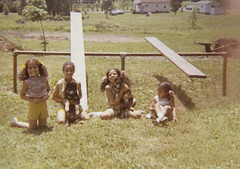 The Four Of Us (riknran-can) Tags: family sisters oldfamilyphotos