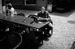 Tages Anzeiger (gato-gato-gato) Tags: street bw white black blanco monochrome person schweiz switzerland flickr noir suisse sommer strasse 28mm zurich negro snapshot streetphotography pedestrian august human pointandshoot streetphoto monochrom zrich svizzera sonne weiss zuerich blanc ricoh ricohgr schwarz onthestreets passant samstag mensch sviss autofocus zwitserland isvire zurigo streetphotographer nachmittag fussgnger zueri strase streetpic apsc gatogatogato fusgnger gatogatogatoch wwwgatogatogatoch streettogs tobiasgaulkech
